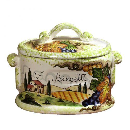 Biscotti Ceramic Jars