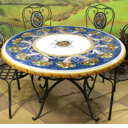 Italian Ceramic Tables