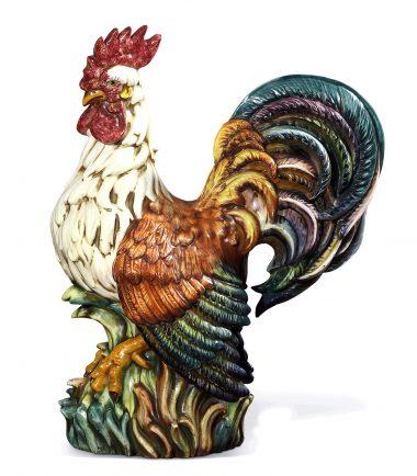 Italian Ceramic Roosters